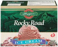 Haggen Rocky Road Ice Cream .5 Gal Carton