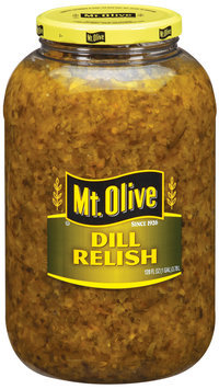 Mt. Olive Dill Relish 128 Oz Plastic Jar