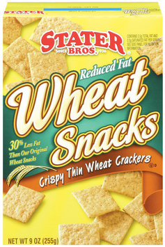 Stater Bros ® Reduced Fat Wheat Snacks