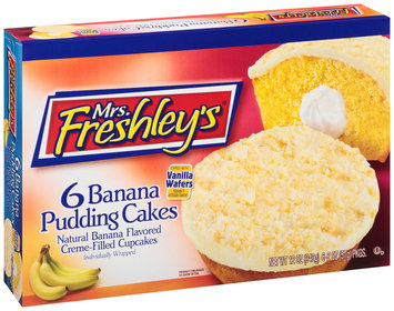 Mrs. Freshley's® Banana Pudding Cakes 6-2 oz. Packs