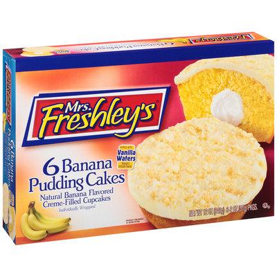 Mrs. Freshley's® Banana Pudding Cakes 6-2 oz. Packs