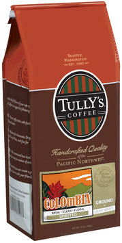 Tully's Coffee Spirited Ground Light Roast Colombia
