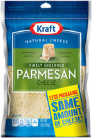 Kraft Natural Cheese Parmesan Shredded Cheese 6 Oz Peg