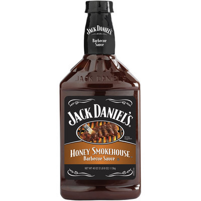 JACK DANIEL'S Honey Smokehouse Barbecue Sauce 40 OZ PLASTIC BOTTLE