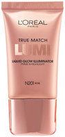 L'Oréal® Paris True Match Lumi Liquid Glow Illuminator N201 Rose Tube