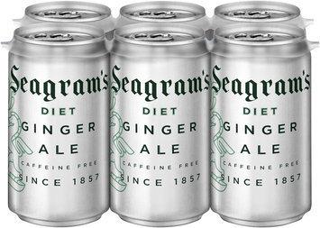 Seagram's® Diet Ginger Ale 6-7.5 fl. oz. Cans