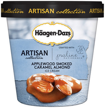 Haagen-Dazs Applewood Smoked Caramel Almond Ice Cream