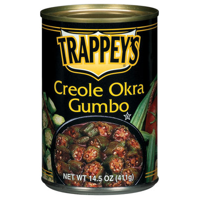 Trappey's Creole Gumbo Okra 14.5 Oz Can