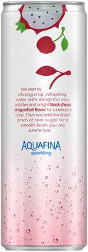 Aquafina™ Sparkling Black Cherry Dragonfruit Sparkling Water Beverage 12 fl. oz. Can