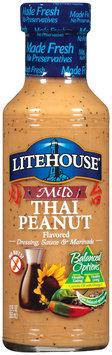 Litehouse Mild Thai Peanut  Dressing Sauce & Marinade 12 Fl Oz Bottle