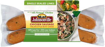 Johnsonville Italian Style Chicken with Mozzarella Sausage 12oz sleeve  (101537)