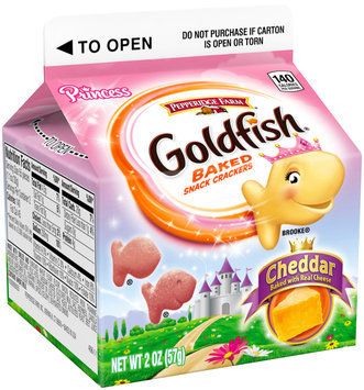 Pepperidge Farm® Goldfish® Princess Cheddar Baked Snack Crackers 2 oz. Bag