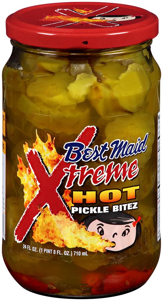 Best Maid® Xtreme Hot Pickle Bitez 24 fl. oz. Jar