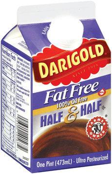 Darigold Fat Free 100% Oil Free Half & Half 1 Pt Pour Spout