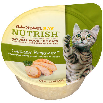 Rachael Ray Nutrish® Chicken Purrcata™ Cat Food 2.8 oz. Container