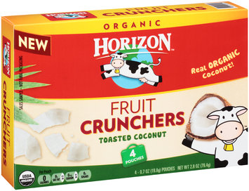 Horizon Fruit Crunchers Toasted Coconut