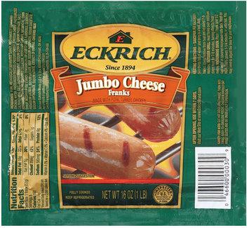 Eckrich Jumbo Cheese Franks 12/1 Lb Franks - Jumbo