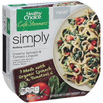 Healthy Choice® Cafe Steamers® Simply Creamy Spinach & Tomato Linguini