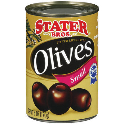 Stater Bros. Pitted Ripe Olives
