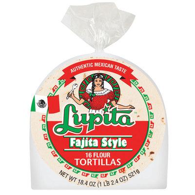 Lupita Flour Fajita Style Tortillas