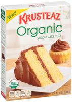 Krusteaz Organic Yellow Cake Mix 15.4 oz. Box