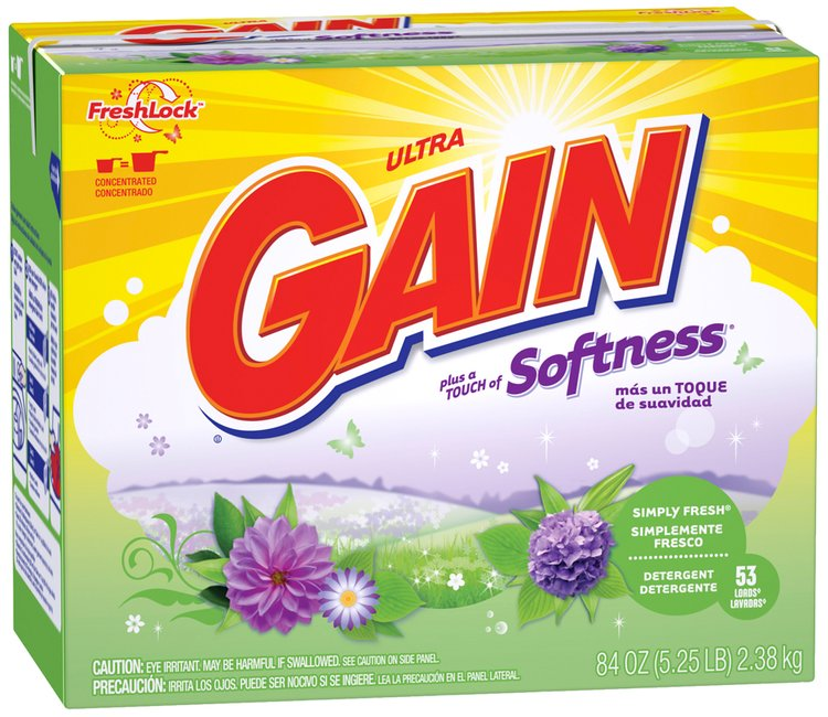 Gain® Ultra Simply Fresh with FreshLock Powder Laundry Detergent 84 oz. Box