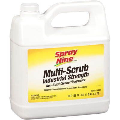 Spray Nine® Multi-Scrub Industrial Strength Non-Butyl Cleaner/Degreaser 1 gal.
