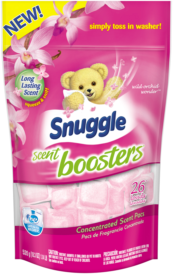 Snuggle Scent Boosters® Wild Orchid Wonder™ 26 Loads Concentrated Scent Pacs 18.3 oz. Bag