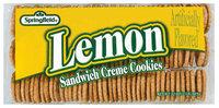 Springfield Sandwich Creme Lemon Cookies 32 Oz Tray
