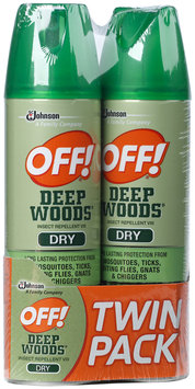 OFF! Deep Woods Dry Insect Repellent 2-4 oz. Aerosol Can