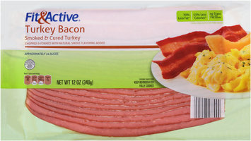 Fit & Active® Turkey Bacon 12 oz. Pack