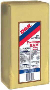 Dak Premium 97% Fat Free Deli Ham 12 Lb