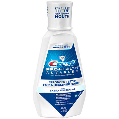 Pro Health Crest Pro-Health Advanced Mouthwash with Extra Whitening, Energizing Mint Flavo