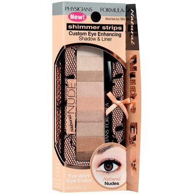 Physicians Formula® Shimmer Strips Natural Nude Eyes Custom Eye Enhancing Shadow & Liner 0.26 oz. Box