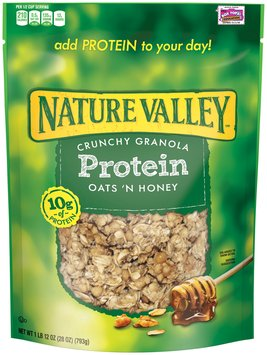 Nature Valley® Oats 'n Honey Protein Crunchy Granola