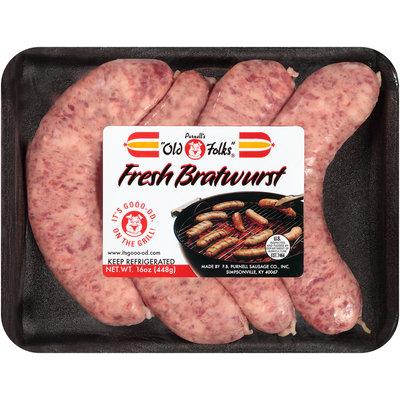 Purnell's Old Folks® Fresh Bratwurst 16 oz. Package