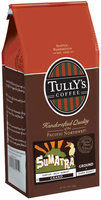 Tully's Coffee Grand Ground Dark Roast Sumatra 12 Oz Stand Up Bag