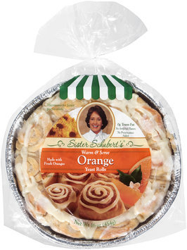 Sister Schubert's® Orange Yeast Rolls 16 oz. Tray