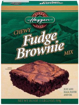Haggen Fudge Chewy Brownie Mix 18.3 Oz Box