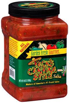 Garden Fresh Gourmet® Jack's Cantina Style Medium Salsa 48 oz. Jar