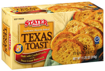 Stater Bros. Authenic Hearth Baked 8 Ct Texas Toast 11.25 Oz Box