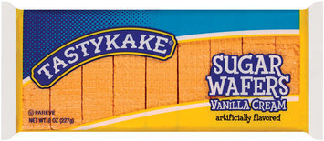 Tastykake Vanilla Cream Sugar Wafers 8 Oz Pack