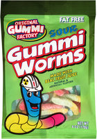 Original Gummi Factory™ Sour Gummi Worms 6 oz.