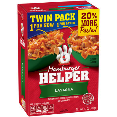 Betty Crocker® Lasagna Hamburger Helper® 14.1 oz. Box