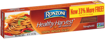 Ronzoni® Healthy Harvest® 100% Whole Grain Spaghetti 16 oz. Box