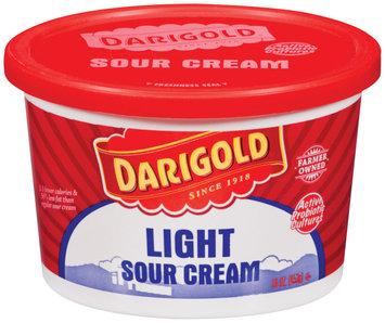Darigold Light Sour Cream 16 Oz Plastic Tub