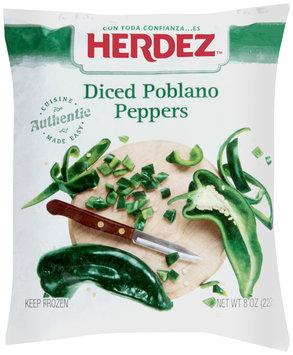 Herdez™ Diced Poblano Peppers 8 oz. Bag