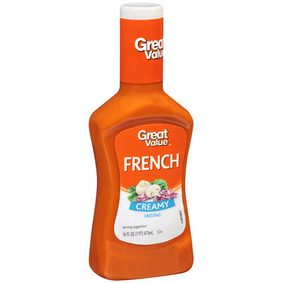 Great Value: Creamy French Dressing, 16 Oz