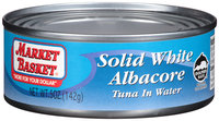 Market Basket® Solid White Albacore Tuna in Water 5 oz. Can