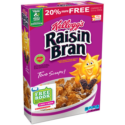 Kellogg's® Raisin Bran® Cereal 29 oz. Box